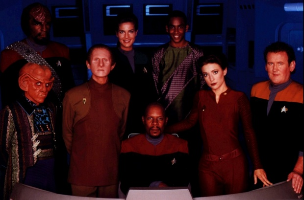 Huvudpersonerna i Deep Space Nine