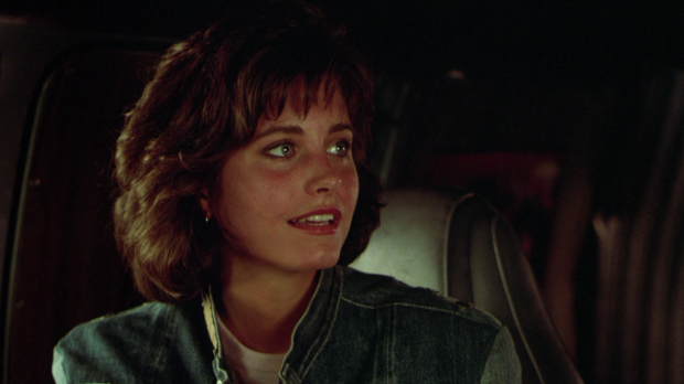 Courteney Cox som Julie i Masters of the Universe