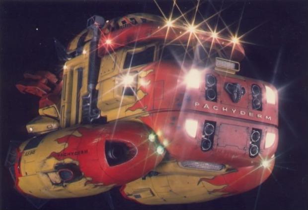 John Canyons rymdskepp ser ut som en lastbil