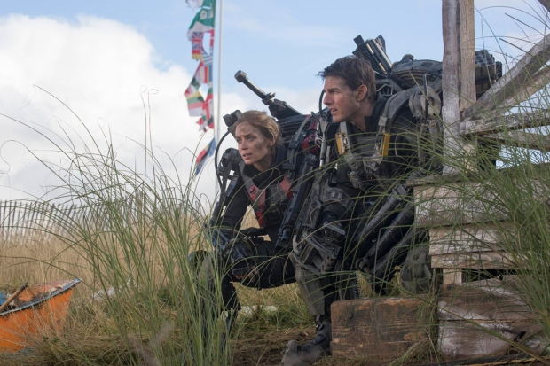 Emily Blunt och Tom Cruise i Edge of tomorrow