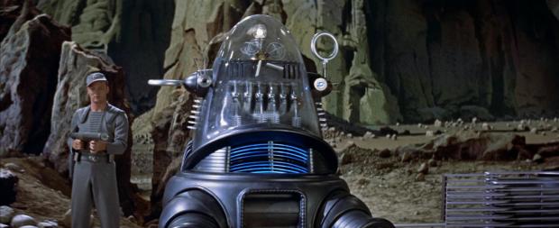 Robbie the Robot är den första roboten med en personlighet i amerikansk film