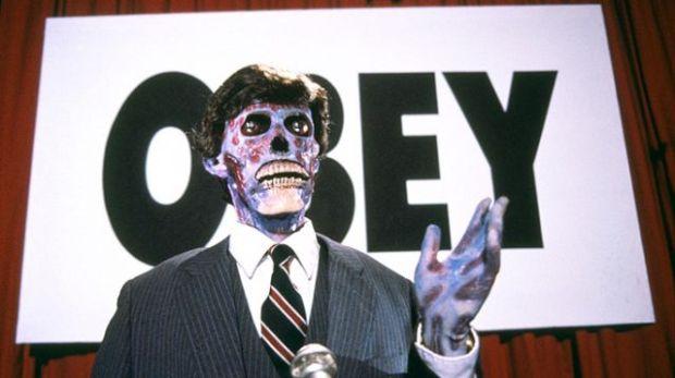Även presidentkandidaten är utomjordisk