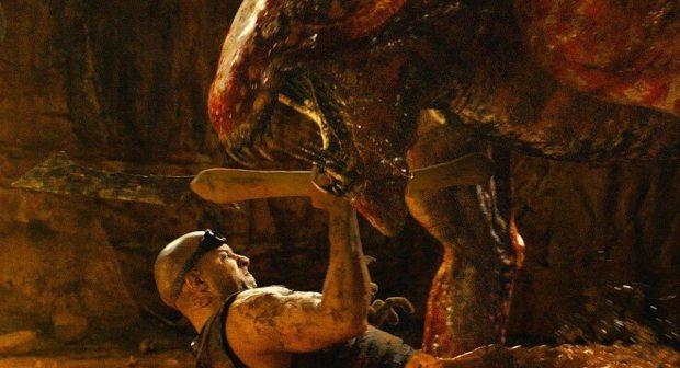 Grrr! Riddick mot slemt monster