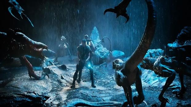 Monstren vill ha det fuktigt, så i regnet trivs de