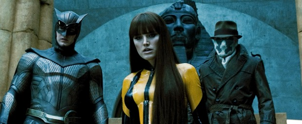 Night Owl, Silk Spectre, Rorschach