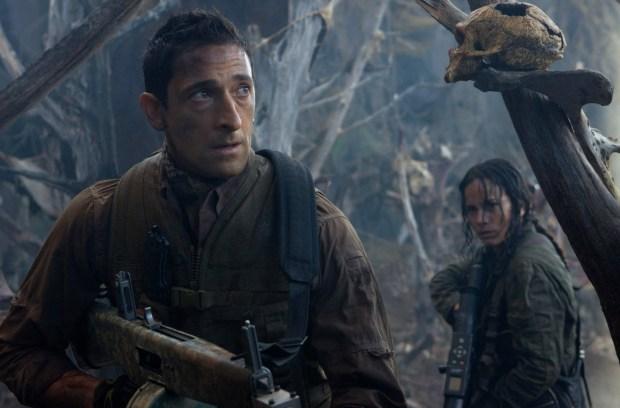 Adrien Brody är muskelhjälten i Predators