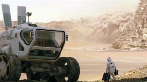 Monstertruck på Mars