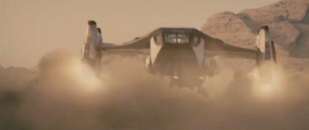 Dropship från The Last Days on Mars