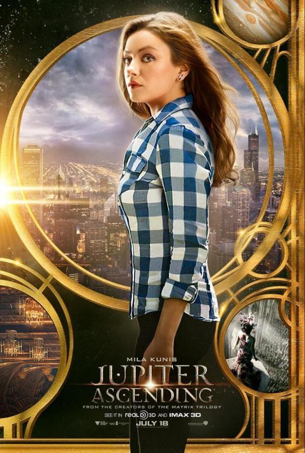 Mila Kunis i Jupiter Ascending