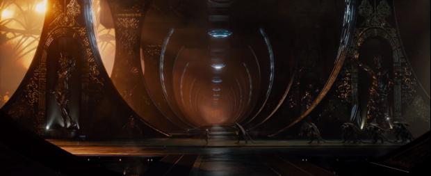 Ailens med vingar och långa svansar, i trailern för Jupiter Ascending