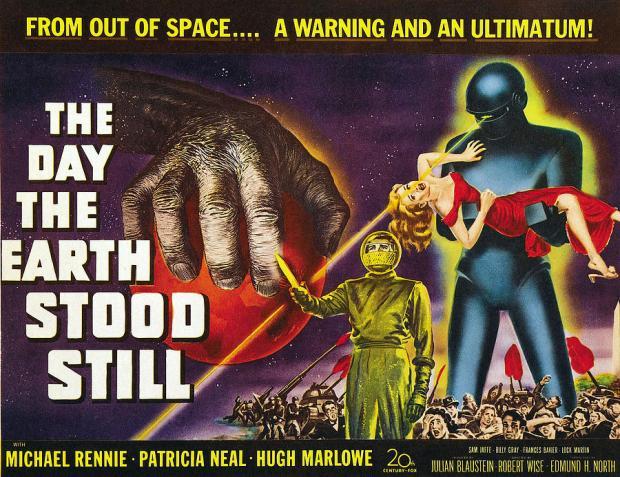 Poster för 1951 års version av The Day the Earth Stood Still