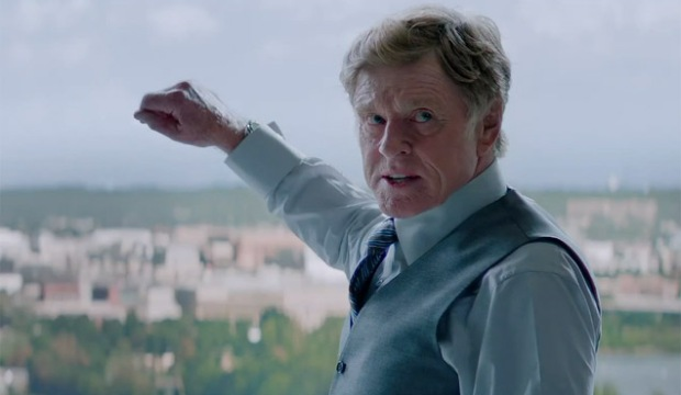 Robert Redford i Captain America: The Winter Soldier