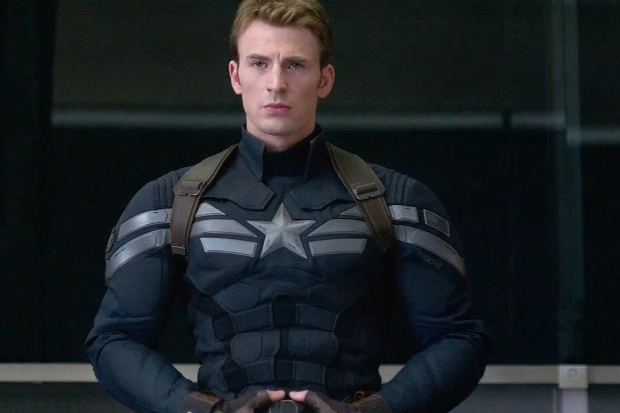 Chris Evans i Captain America: The Winter Soldier