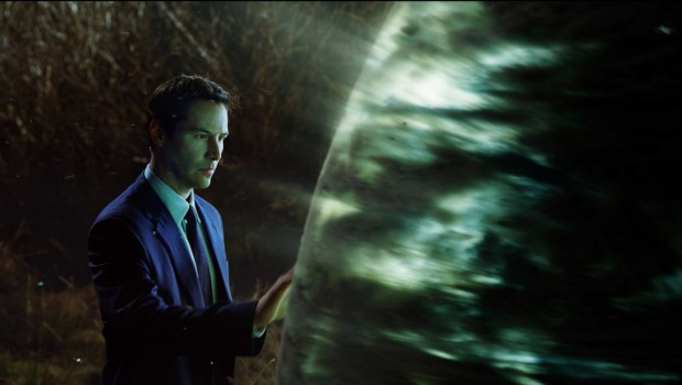 Keanu Reeves som Klaatu