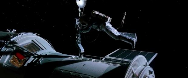 Ryska kosmonauter är med om en olycka i början av Superman III