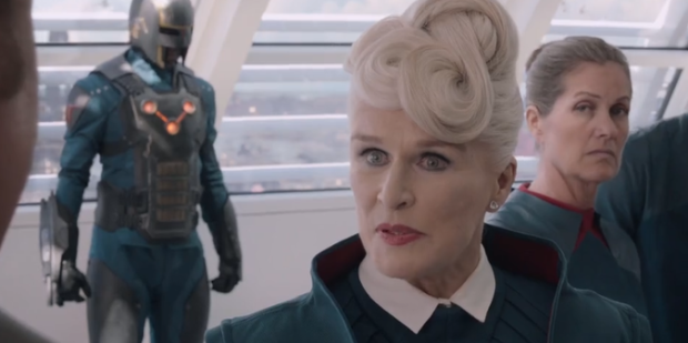Glenn Close i Guardians of the Galaxy