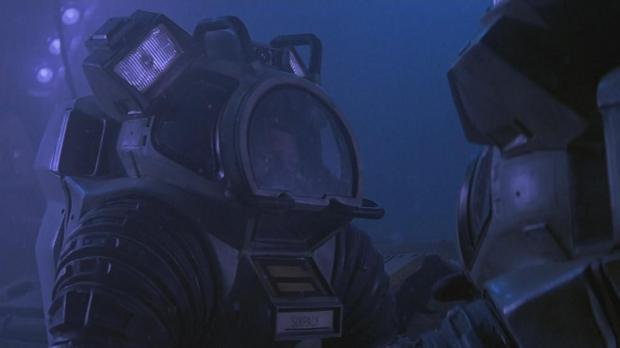 Rymddräkt eller dykardräkt?