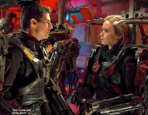 Tom Cruise och Emily Blunt i Edge of Tomorrow
