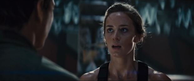 Emily Blunt  som Rita Vrataski-in-Edge-of-Tomorrow