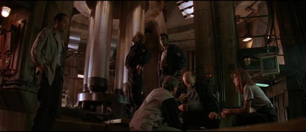 Looken i Leviathan påminner om Nostromo i Alien