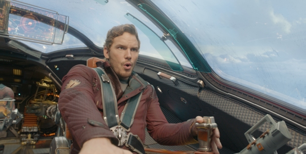 Chris Pratt som Star-Lord i Guardians of the Galaxy