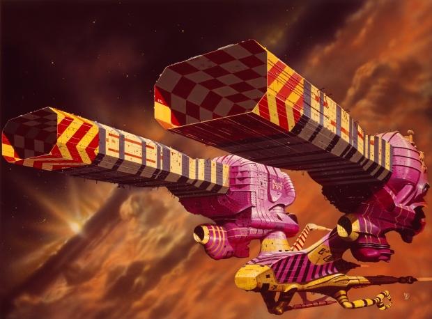 Chris Foss rymdskeppsdesign till Dune