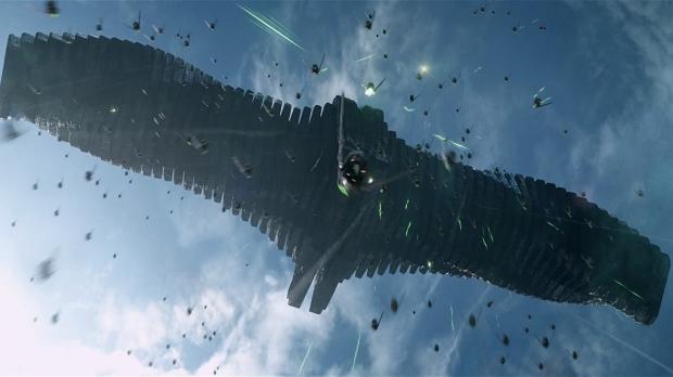 The Dark Aster är Ronans flaggskepp, som hotar planeten Xander