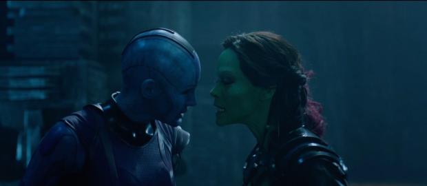 Gamora och Nebula