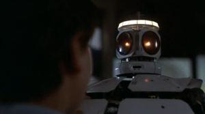 Roboten Jinx i Space Camp är mycket ostig