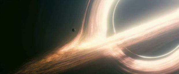 Svart hål i Interstellar