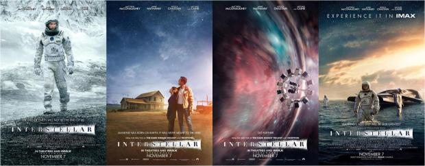 Posters för Interstellar
