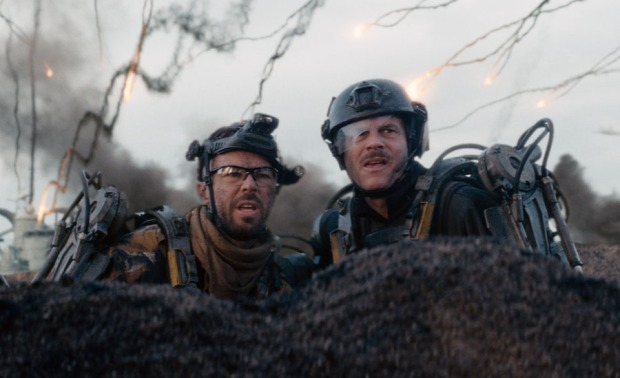 Bill Paxton i högform i Edge of tomorrow