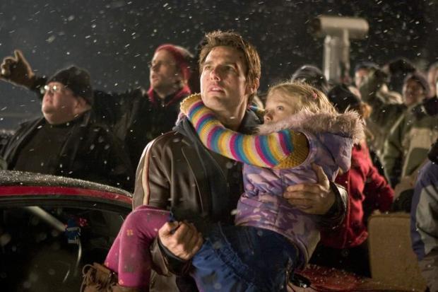 Tom Cruise och Dakota Fanning i Världarnas krig