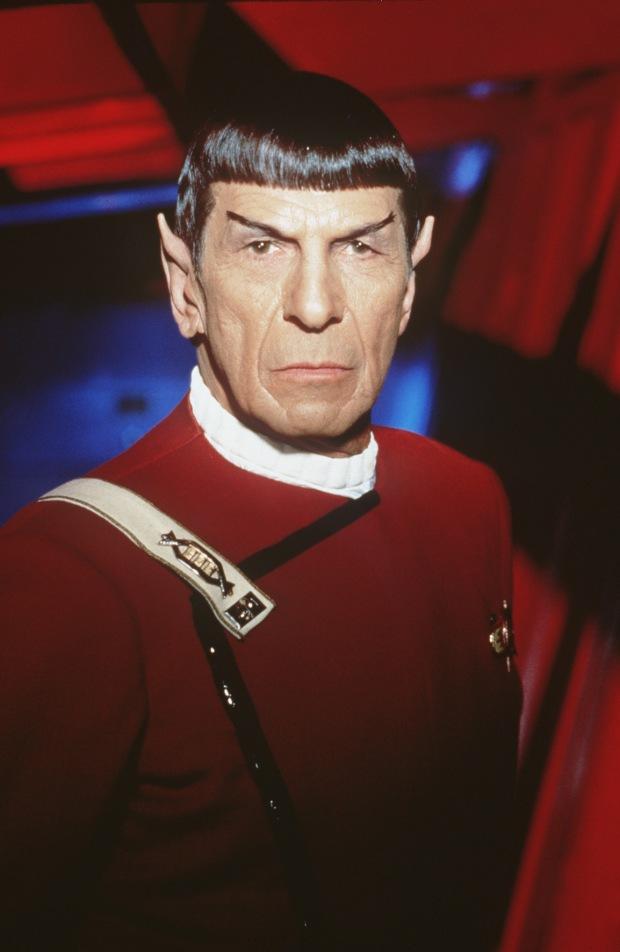 Leonard Nimoy som Spock 1991