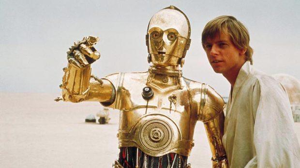 C3PO i Star Wars