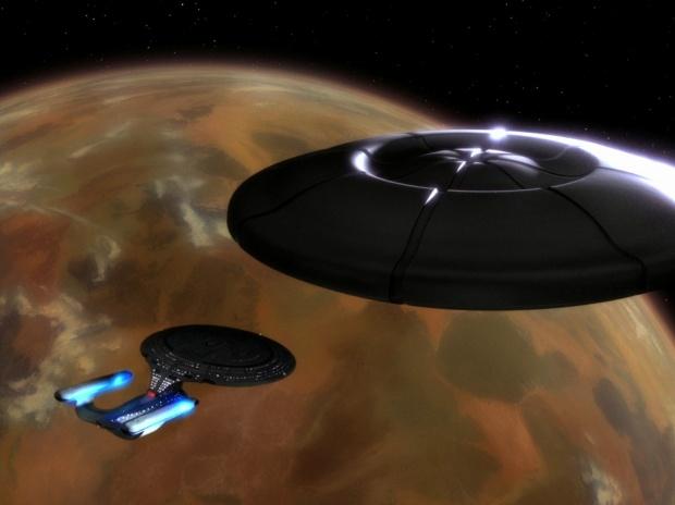 Enterprise och det stora skeppet