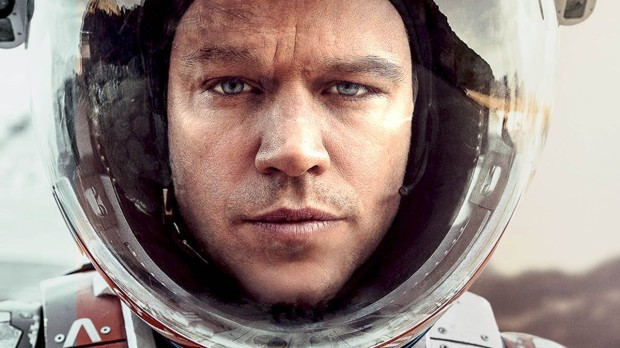 Matt Damon i The Martian