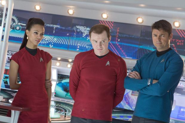Zoe Saldana, Simon Pegg och Karl Urban återkommer i Star Trek XIII