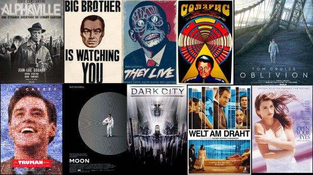 Filmer där verkligheten inte är vad den förmodas vara