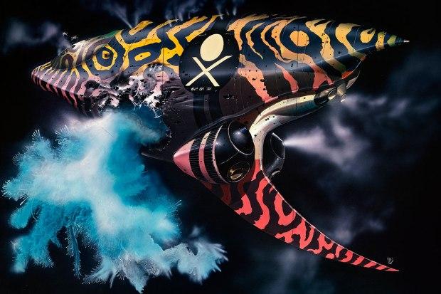 Illustration av Chris Foss till Jodorowsky's Dune