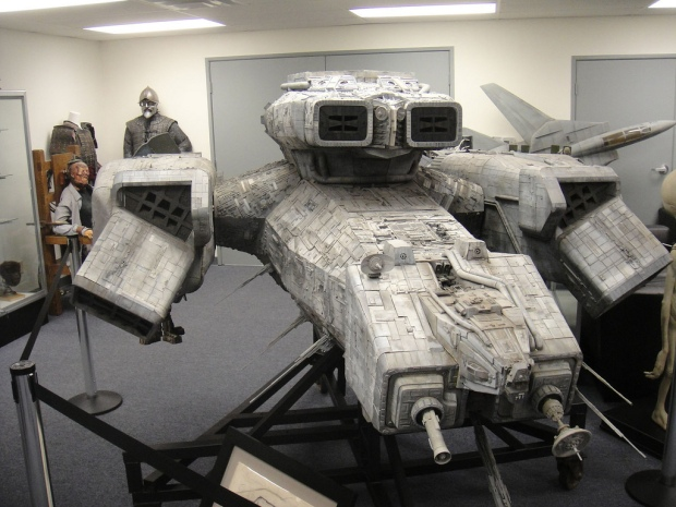The USCSS Nostromo - originalmodellen från Alien,