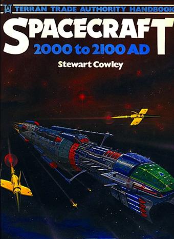 Boken Spacecraft 2000-2100 (finns på svenska som Rymdfarkoster 2000-2100)