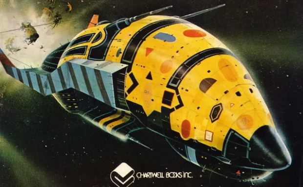 Illustration av Chris Foss