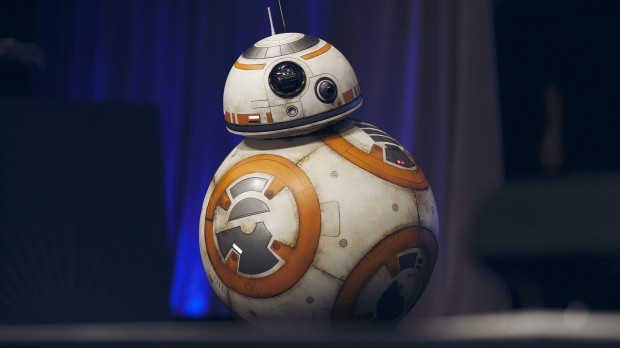 BB8 från The Force Awakens