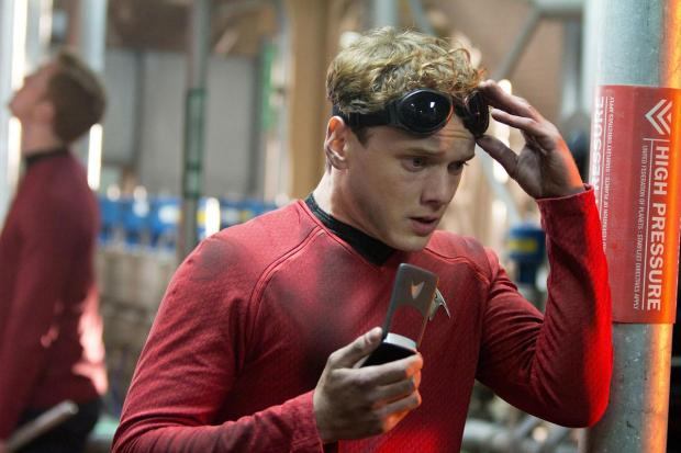 Anton Yelchin som Chekov i Star Trek