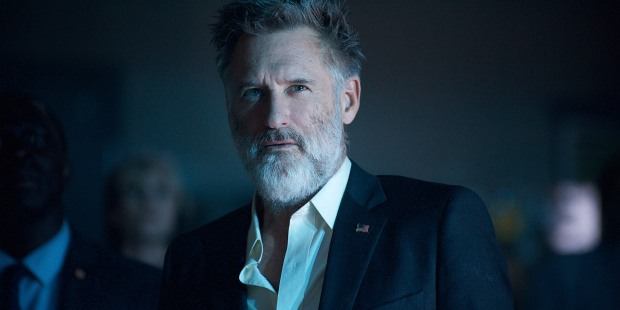 "DF-08685r - Bill Pullman reprises his ""Independence Day"" role of Thomas Whitmore. Photo Credit: Claudette Barius."