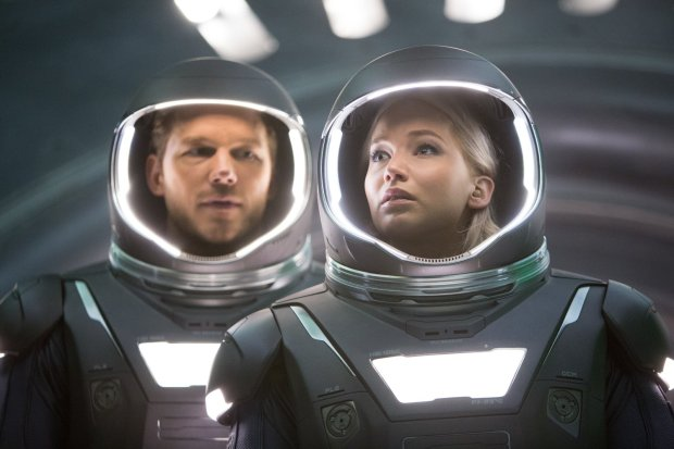 Jennifer Lawrence och Chris Pratt
