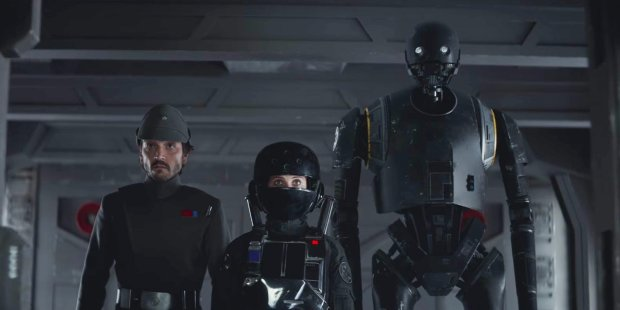 k-2so i Star Wars Rogue One
