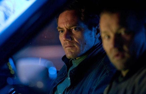 Michael Shannon och Joel Edgerton i Midnight Special
