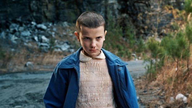 Millie Bobby Brown spelar Eleven i Stranger Things